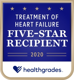 Treatment of Heart Failure Five-Star Recipient 2020